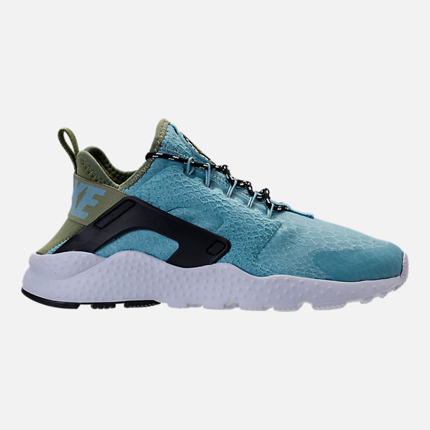 Right view of Women's Nike Air Huarache Run Ultra Casual Shoes in Mica Blue /Legion