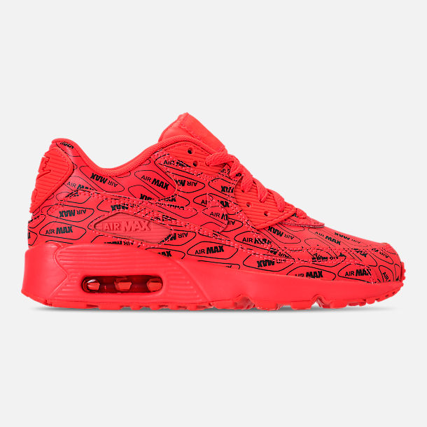 info for 1b2b5 982c3 Right view of Boys Grade School Nike Air Max 90 SE Leather Running Shoes