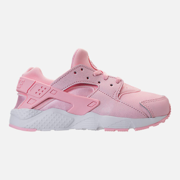 nike huarache run print girls' shoes