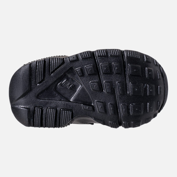 Bottom view of Girls' Toddler Nike Huarache Run SE Casual Shoes