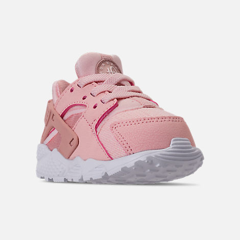 ed022d0d5c47c Three Quarter view of Girls' Toddler Nike Huarache Run SE Casual Shoes