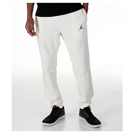 003a132429d Nike Men'S Air Jordan Wings Fleece Jogger Pants, White | ModeSens