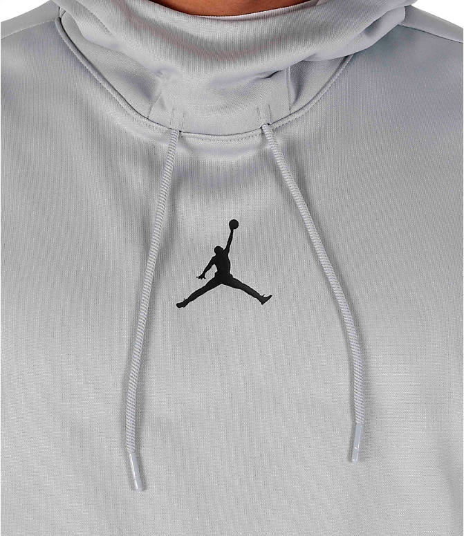 Detail 1 view of Men's Air Jordan Therma 23 Alpha Training Hoodie in Wolf Grey