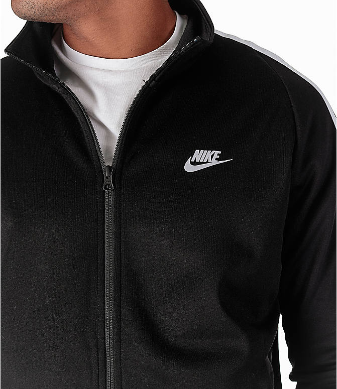 Detail 1 view of Men's Nike Sportswear Poly Knit Jacket in Black