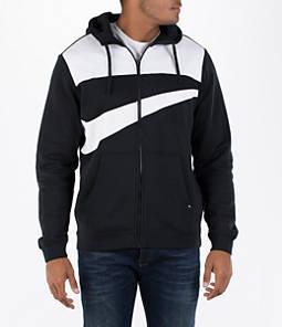 Men's Nike Hybrid Full-Zip Hoodie Product Image