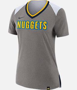 Women's Nike Denver Nuggets NBA Basketball Fan Top