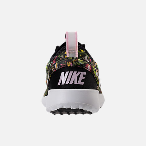 Back view of Women's Nike Juvenate SE Casual Shoes in Black/Summit White/Prism Pink