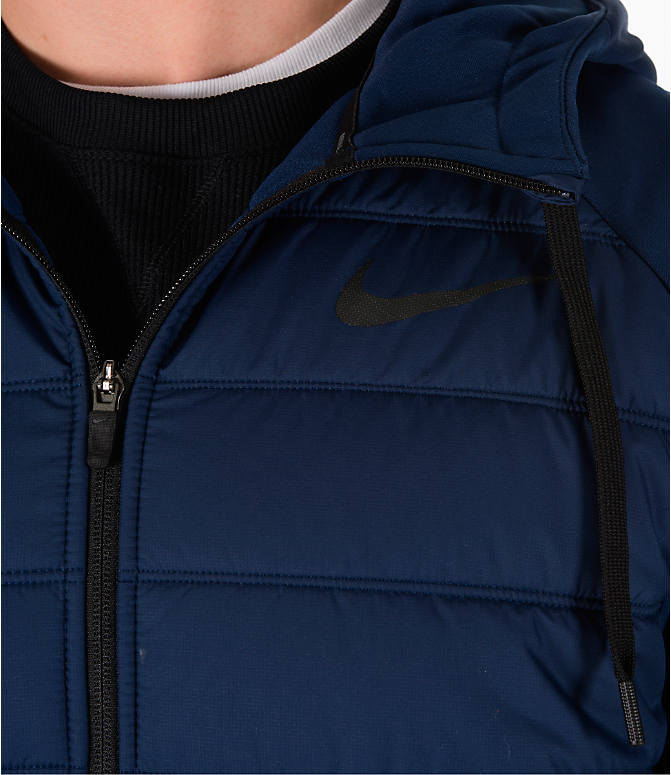Detail 2 view of Men's Nike Winterized Therma Training Vest in Blue