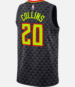 Men's Nike Atlanta Hawks NBA John Collins Association Edition Connected Jersey