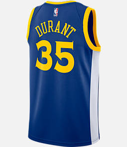 Men's Nike Golden State Warriors NBA Kevin Durant Icon Edition Connected Jersey