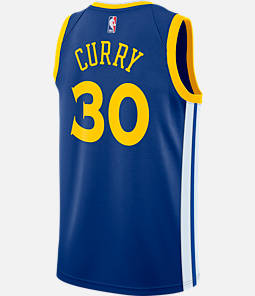 Men's Nike Golden State Warriors NBA Stephen Curry Icon Edition Connected Jersey