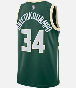 Men's Nike Milwaukee Bucks NBA Giannis Antetokounmpo Icon Edition Connected Jersey