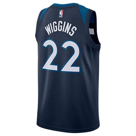 Nike Men S Andrew Wiggins Minnesota Timberwolves Icon Swingman