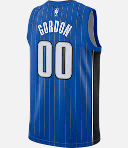 Men's Nike Orlando Magic NBA Aaron Gordon Icon Edition Connected Jersey