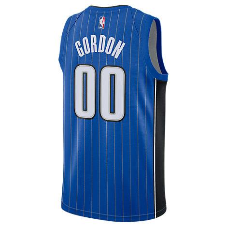 Nike Men's Aaron Gordon Orlando Magic Icon Swingman Jersey In Blue