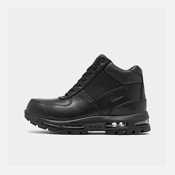 Right view of Men's Nike Air Max Goadome Boots in Black/Black/Black