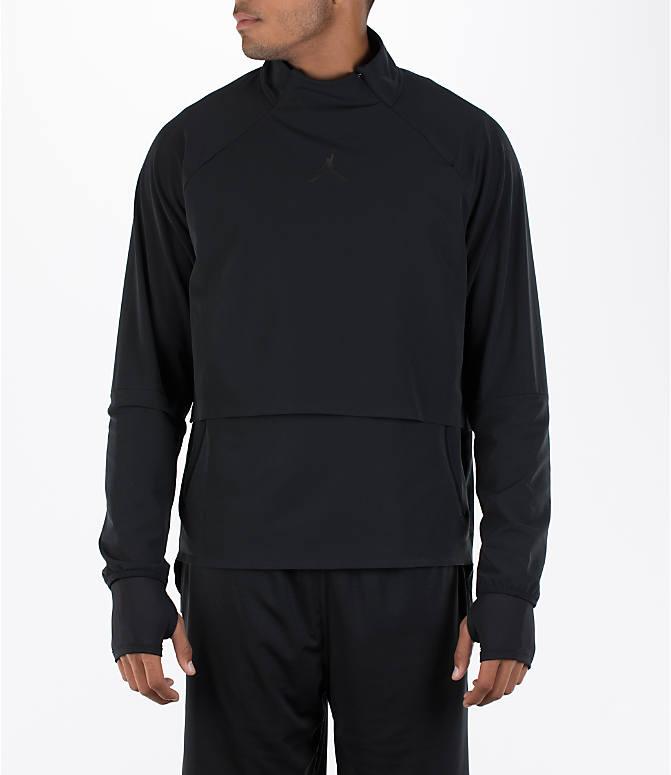 d53e2755685f Front view of Men s Air Jordan 23 Tech Shield Training Jacket