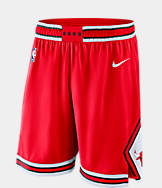 Men's Nike Chicago Bulls NBA Icon Edition Swingman Basketball Shorts