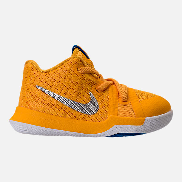 090dea2387d1 ... low price right view of boys toddler nike kyrie 3 basketball shoes in university  gold chrome ...