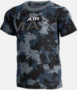 Kids' Nike Air Max Camo Allover Print T-Shirt