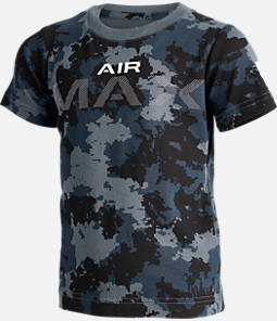 Kids' Nike Air Max Camo Allover Print T-Shirt