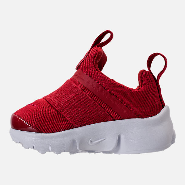 Left view of Boys' Toddler Nike Presto Extreme Running Shoes in Gym Red/Gym Red/White/Black