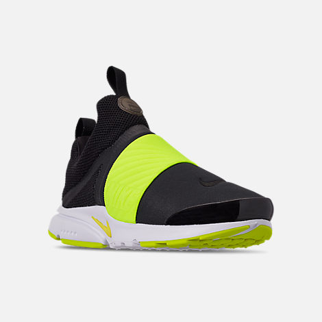 60c8f81c0a Three Quarter view of Boys' Big Kids' Nike Presto Extreme Casual Shoes in  Black