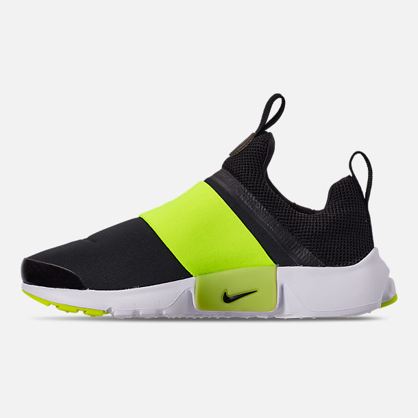 Left view of Boys  Big Kids  Nike Presto Extreme Casual Shoes in Black  b73319a91