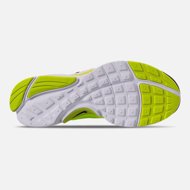 promo code 6c26e 7ffe9 Bottom view of Big Kids  Nike Presto Extreme Casual Shoes in Black Volt