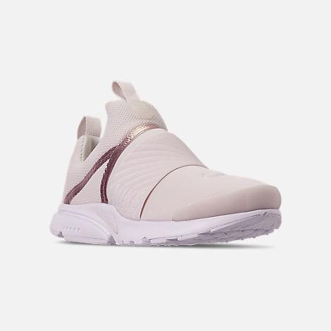 140ee942b0f Three Quarter view of Girls  Big Kids  Nike Presto Extreme Casual Shoes in  Phantom