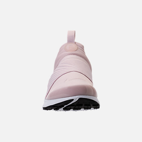 Front view of Girls' Grade School Nike Presto Extreme Running Shoes in Barely Rose/White/Black