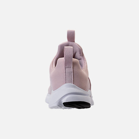 Back view of Girls' Grade School Nike Presto Extreme Running Shoes in Barely Rose/White/Black