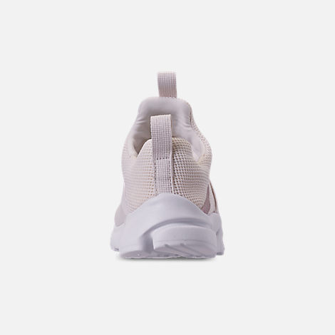 Back view of Girls' Little Kids' Nike Presto Extreme Casual Shoes in Phantom/Phantom/Metallic Red Bronze