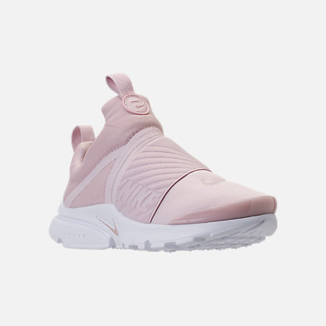 quality design 2ff99 aae18 Three Quarter view of Girls  Preschool Nike Presto Extreme Running Shoes in  Barely Rose