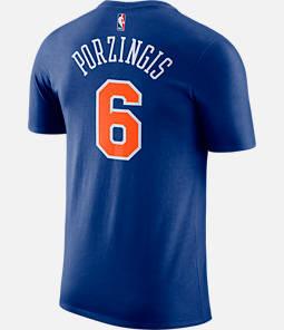 Men's Nike New York Knicks NBA Kristaps Porzingis Name and Number T-Shirt