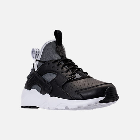 mens nike huarache ultra black and white