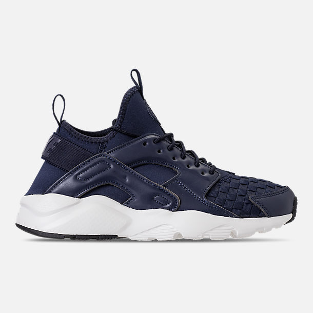 Right view of Men s Nike Air Huarache Run Ultra SE Casual Shoes in  Obsidian Neutral 8ee4ac8c3848