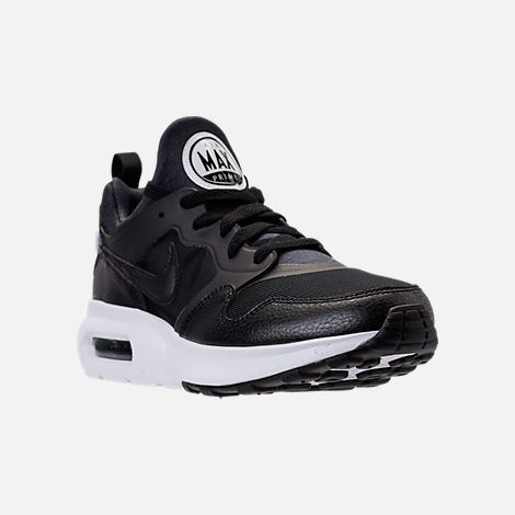 reputable site d6df4 a8336 ... cheapest three quarter view of mens nike air max prime running shoes in  black black b32b0