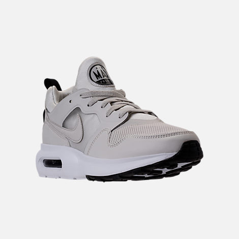 Three Quarter view of Men's Nike Air Max Prime SL Running Shoes in Lite  Bone/