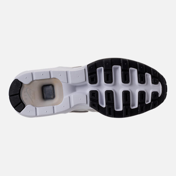 Bottom view of Men's Nike Air Max Prime SL Running Shoes in Lite Bone/Black