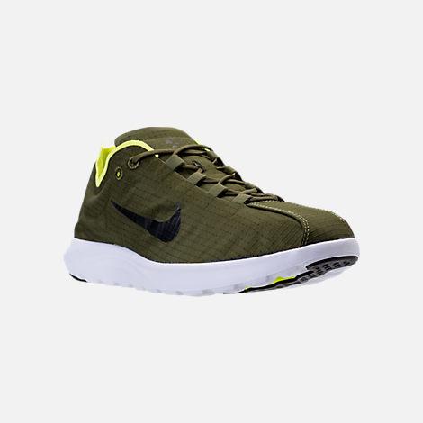 Men's Nike Mayfly Lite SE Running Shoes Legion Green/Black/Volt 876188 300