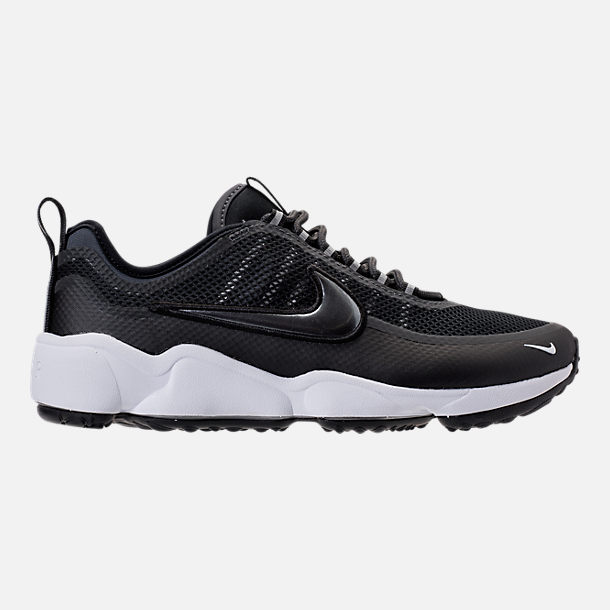Right view of Men's Nike Air Zoom Spiridon Ultra Casual Shoes in Black/Metallic  Hematite