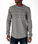 Men's Air Jordan 23 Curved Long-Sleeve T-Shirt