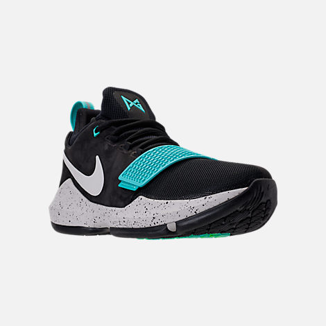 Three Quarter view of Men's Nike PG 1 Basketball Shoes