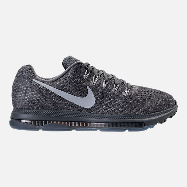 Right view of Men's Nike Zoom All Out Low Running Shoes in Pure Platinum/Cool Grey/Wolf Grey
