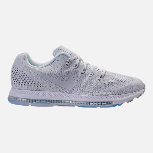 Right view of Men's Nike Zoom All Out Low Running Shoes in White/Pure  Platinum