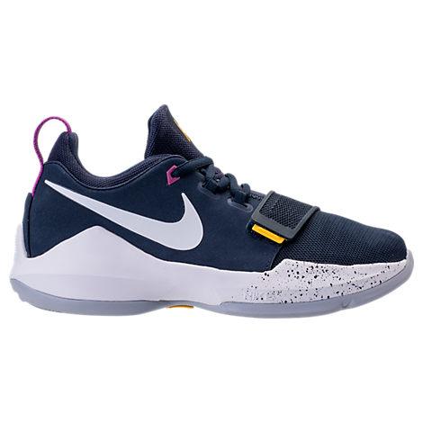 Nike Boys Basketball Shoes Blue