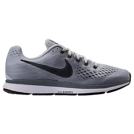Nike Men S Air Zoom Pegasus 34 Running Sneakers From Finish Line In Pure  Platinum Anthracite dde226a0868c