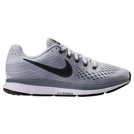 new product 8773d e39c1 Nike WomenS Air Zoom Pegasus 34 Running Sneakers From Finish Line In Pure  PlatinumAnthracite