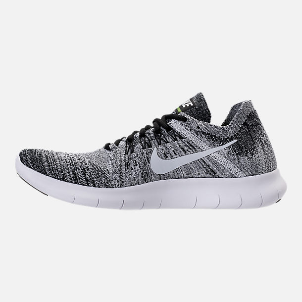 Left view of Men's Nike Free RN Flyknit 2017 Running Shoes